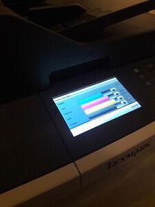 Lexmark CX410de Laserdrucker 29.876 Seiten gedruckt inkl. 4x gut gefüllte Toner