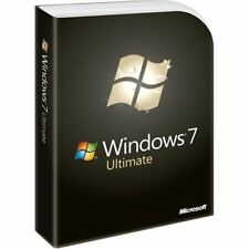 Windows 7 Ultimate 32/64 bit OS 100% Genuine Retail