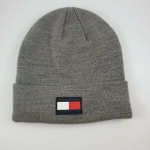 Gray Tommy Hilfiger One Size Fits All Beanie New W/O Tags
