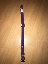 Hunter Halsband Softie Alu-Strong *NEU* Größe M - Halsumfang 40-55cm violett
