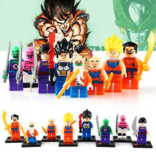 DBZ DRAGONBALL DRAGON BALL Z ANIME MINIFIGURES MINI Figura 8pcs Set Si Adatta LEGO