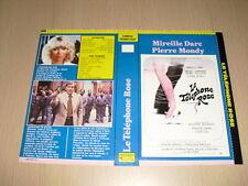 JAQUETTE VHS Le Téléphone rose Mireille Darc Pierre Mondy