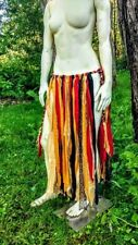 Burning Man Skirt Fabric Grass Skirt Gypsy Cosplay Costume Bohemian Boho Dance