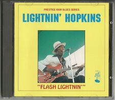 "Lightnin 'Hopkins ""Flash Lightnin"""" CD 1992 PRESTIGE/UK NUOVO/NEW"