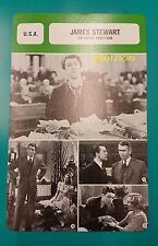 American Film Actor James Stewart (Period 1935 - 1948) French Trade Card
