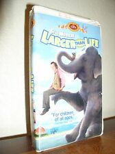 Larger Than Life starring Bill Murray (VHS, 1997, Clamshell Family Treasures)
