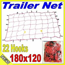 Trailer Net 180 x 120cm - Elasticised with 22 Hooks 6'x4' 7'x4' trailers