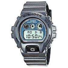 G-Shock Metallic Resin Grey/ Blue DW6900MF-2 *ONLY INCLUDES METAL BOX*