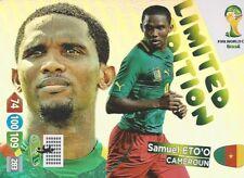 Panini Adrenalyn XL World Cup 2014 Limited Edition Samuel Eto´o