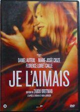 DVD JE L'AIMAIS - Daniel AUTEUIL / Marie Josée CROZE - Zabou BREITMAN