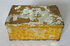 Antique Tobacco Tin (Unknown Maker), SOMERS BROS. BROOKLYN, NY Pat. APL. 29 1879