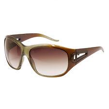 Just Cavalli - Verde/MARRONE SFUMATO Oversize Occhiali da sole con custodia