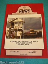 GREAT EASTERN NEWS #138 - SPRING 2009