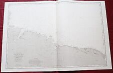 1864 - BRAZIL - CEARÁ - AMAZON RIVER MOUTH - NAUTICAL CHART BRASIL