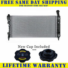 Radiator With Cap For Buick Chevrolet Fits Lacrosse Impala 2710WC