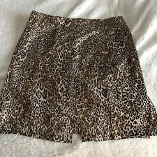 New York & Company Stretch Skirt Size 14 Animal Print