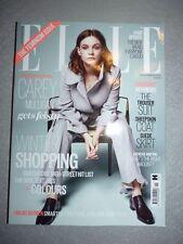 Magazine mode fashion ELLE UK november 2015 Carey Mulligan