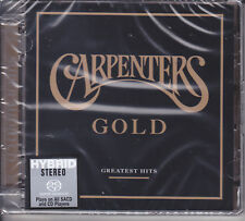 """Carpenters Gold Greatest Hits"" Limited Numbered Japan Hybrid SACD CD New Sealed"