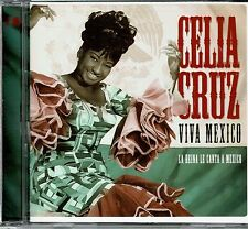Celia Cruz Viva Mexico La Reina le Canta a Mexico  BRAND  NEW SEALED  CD