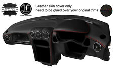 RED STITCH DASH DASHBOARD REAL LEATHER COVER FITS ALFA ROMEO GTV 916 PHASE 2