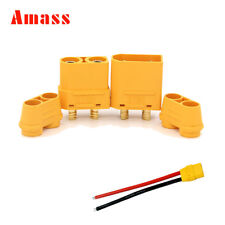 10Pairs Amass XT90 housing Connector Female Male Plug For RC Drone Lipo Battery