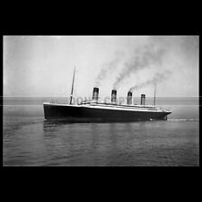 Photo B.003656 RMS OLYMPIC WHITE STAR LINE 1911 PAQUEBOT OCEAN LINER STEAMSHIP