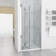 Nischentür Duschabtrennung Duschwand Dusche 180° Falttür NANO ESG 75 x 185 cm