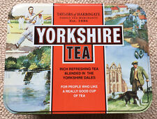 Collectable Taylor's Of Harrogate Yorkshire Tea Caddy Tin