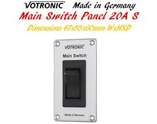 Votronic Main Switch Panel 20A S