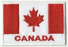 écusson ECUSSON BRODE PATCHE PATCH THERMOCOLLANT DRAPEAU CANADA 7 X 5 CMS