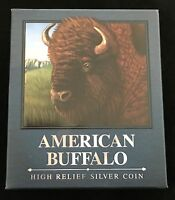 2014 P Tuvalu Silver American Buffalo Packaging ( OGP Only ) No Coin