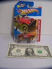 Hot Wheels Red #15 Toyota Land Cruiser FJ40 #1 Thrill Racers - Short Card - 2012
