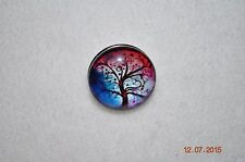NEW Snap Chunk metal Button TREE OF LIFE Charm for Snap button jewelry/18-19MM