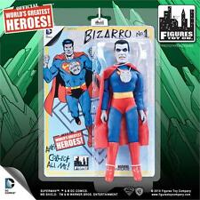 "DC Comics BIZARRO  Superman series 1 retro mego  8"" MIP SHIPS FREE  in 24!"