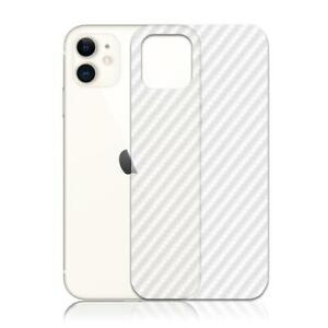 2X TOP QUALITY CARBON FIBRE BACK PROTECTOR FILM GUARD COVER FOR IPHONE 11