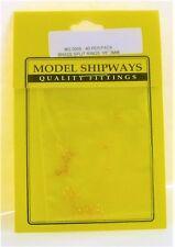 Model Shipways Fittings MS 0955 Split Rings, Brass 1/8'' (3mm) 40/pack. NEW