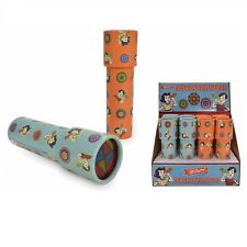 2 Rotating Kaleidoscope Cylinder Colourful Patterns Educational Toys Childs Kids