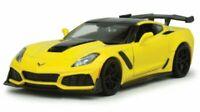 CHEVROLET Corvette ZR1 - 2019 - yellow / black - MotorMax 1:24