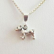 Pit Bull Mini Pendant Charm and Necklace- Free Shipping