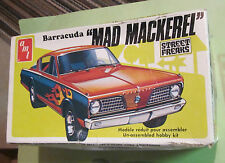 AMT Barracuda Mad Mackerel Hemi Under Glass AWB #T110 '70s Unbuilt in Box