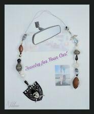 Oakland Raiders - Sports Football NFL Rear View Mirror Hanger Car Jewelry