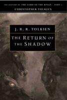 The Return of the Shadow by J.R.R. Tolkien (English) Paperback Book Free Shippin