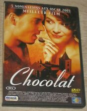 "DVD Film ""LE CHOCOLAT"" (Depp, Binoche, Dench, Molina, Stormare, Moss, Olin, ...)"