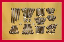 Yamaha Virago XV 920 XV920 Stainless Steel Bolt-kit Screws Cover Motor Engine