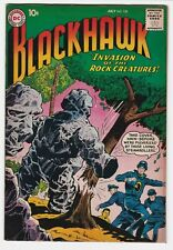 Blackhawk #138 VF+ 8.5 Adventure War Invasion of the Rock Creature Black Ravens