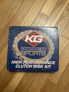 KG Powersports High Performance Clutch Disc Set | KG132-8HPK