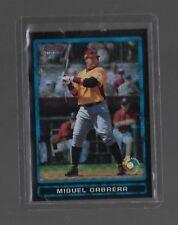 2009 bowman chrome baseball card MIGUEL CABRERA XFRACTOR REFRACTOR #D 99/199 BDP