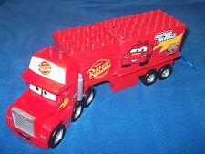 LEGO DUPLO CARS mack su grande viaggio di 5816 Camion rimorchio + SPORTELLO BLU