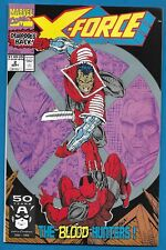 Marvel 1991 - X-FORCE #2  DEADPOOL x2 -  2nd Appearance - Art by Rob Liefield