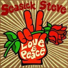 SEASICK STEVE  Love & Peace CD ******NEW SEALED CD*****